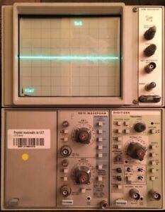 Tektronix 5110 oscilloscope (opérateur & Service)