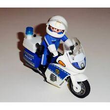 Moto Playmobil 4262 Motard de police