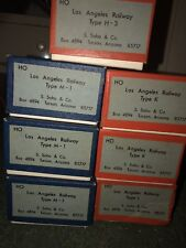 7 (Vintage) VINTAGE HO BRASS LOS ANGELES RAILWAY Trolley  S. SOHO & CO. MINT NOS