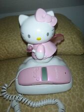 Hello Kitty 2002 Sanrio Co Ltd  Emerson Corded Phone Tested and Working