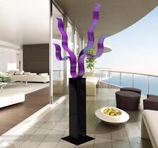 Large Modern Indoor Outdoor Sculpture Art - Purple Reaching Out 24 by Jon Allen