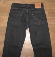 """elastische LEVI`S 514 Herren- Jeans / LEVIS Blue-Jeans in schwarz W32""""/ L32"""""""