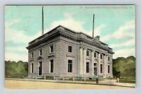 Vintage View of Niagara Post Office, Niagara Falls NY, Postcard X31
