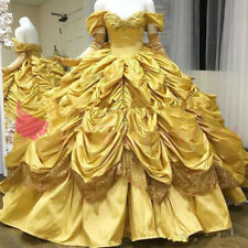 Yellow Quinceanera Dresses Off Shoulder Princess Taffeta Gothic Sweet 16 Gown