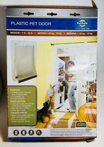 PetSafe Plastic Pet Door Medium Soft Flap New 610-1633