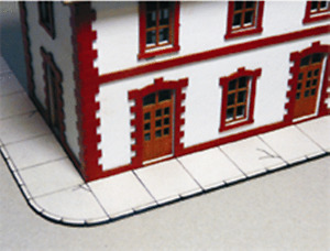 HS  Proses PLS-016 Fussgängerweg Beton  Lasercut Bausatz
