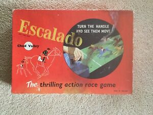 Escalado horse racing board game in good condition