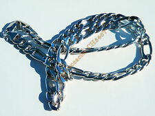 Chaine 61 cm Pur Acier Inoxydable Maille Cheval 10 mm