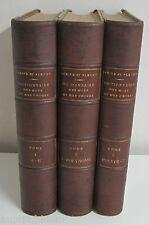 DICTIONNAIRE FRANCAIS ILLUSTRE DES MOTS ET DES CHOSES 3 vol. Larive & Fl 1886-89