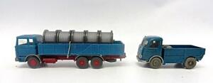 Vintage1960's Wiking Germany Pair of Mercedes Trucks (#2) No Reserve    (28)