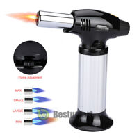 Refillable Gas Micro Mini Cigar Adjustable Torch Lighter Soldering Welding A++