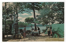 Early View of Camping at Fish Creek, New York