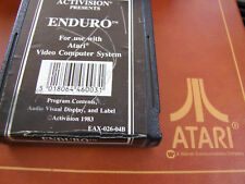 JUN  ATARI 2600 REGION FREE OFFERS/COMBINE - ACTIVISION BLACK -  ENDURO