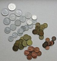 WORLD COINS DE1: Big, mixed lot of GERMAN Mark (60 coins plus a few extras)