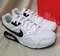 Nike Air Max 1 LTR BLACK GREY WHITE 654466 001 EUR 44 UK 9