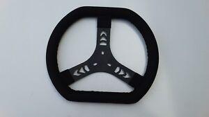 Steering wheel, 320mm suede flat top & bottom, light weight suit ARROW 4SS CRG