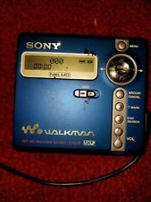 Sony Portable MiniDisc Walkman Mz-N707 Type-R with remote and blank disc tested!