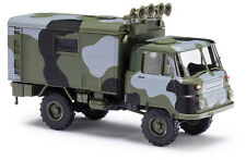 Busch H0, 50238 ROBUR LO 2002 A in Camouflage, Vehicle Model 1:87