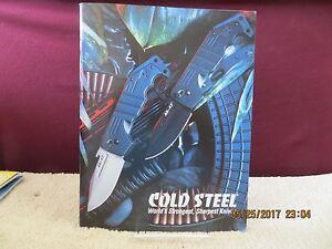 2008 Cold Steel Knife Catalog Brochure