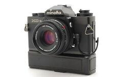 【N MINT+++】Minolta XD-S SLR Film Camera MD Rokkor 45mm F/2 Winder D From JAPAN
