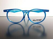 New Carrera Sunjet 5284 eyeglasses blue transparent duble bridge made in Austria