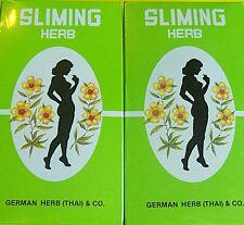 100 BAGS GERMAN HERB SLIMMING DIET TEA FAT BURN SLIM FIT FAST DETOX LAXATIVE