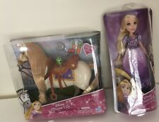 Disney Hasbro Princess Rapunzel Doll And Maximus from Tangled SEALED Brand New!!