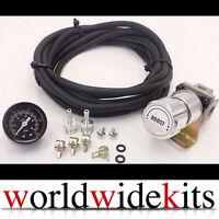 T2 Universal Manual Turbo Boost Controller 0-150 PSI+ Vacuum Hose+ Gauge -Silver