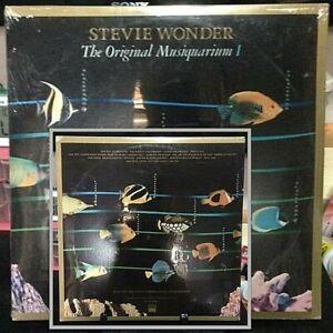 STEVIE WONDER Original Musicquarium-1 SEALED/BRAND NEW DOUBLE Album Released1982