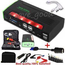 68800mah 12v Jump Starter car emergency charger battery Booster Power Bank + veneno