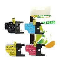 4 pk LC75 ink set for Brother MFC-J825DW MFC-J430W Printer HI-QTY!