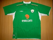 * IRELAND 2004 2006 HOME Umbro football SHIRT JERSEY soccer XL EIRCOM 04 Irish
