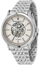 Maserati Legend Automatic Skeleton Men's Stainless Steel Watch - R8823138001