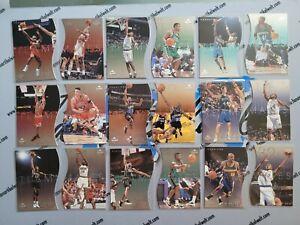 Komplettset 1997-98 Upper Deck Teammates 1-60 Jordan, Sprewell, Rice, Olajuwon