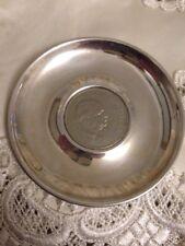 Silver Vintage Churchill Coin Tray