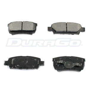 Rear Brake Pads DuraGo Ceramic BP1037C