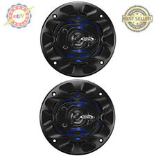 Pairs - BOSS Audio Full Range Speakers 3 Way Car Speakers 225 Watt RMS 4 Inch