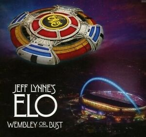 Jeff Lynne`s ELO - Wembley Or Bust: Live At Wembley NEW SEALED 2CD