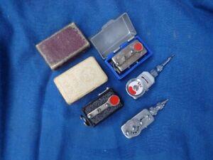 4 Stück-mechanischer Selbstauslöser (Autoknips I,Signal usw) /self timer