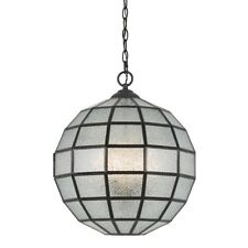 Cal Lighting Diego 3 Light Glass Chandelier, Crystal - FX-3607-1P