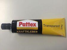 (69,20€ / 1 L)  Henkel Pattex Kraftkleber Transparent 125g  Metall, Gummi, PVC