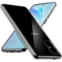 Samsung Galaxy S20 Plus (6,7') Handy Schutz Hülle Klar Silikon Case Cover Bumper