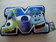 Brand New Official Disney Monster University M Shaped Cushion