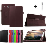 For Samsung Galaxy Tab E T560/T561 9.6inch Tablet Leather Folio Stand Cover Case