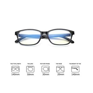 Women Men Clear Lens Anti Glare Glasses TV PC Computer Gaming Blue Light Filter