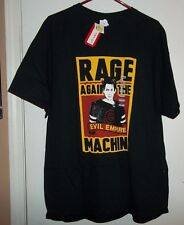 NWT RAGE AGAINST THE MACHINE EVIL EMPIRE SHIRT SIZE XL