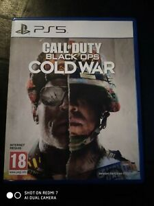 Jeux ps4 / ps5 Call of Duty Cold War