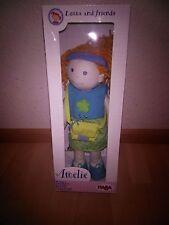 Haba Puppe Stoffpuppe Amelie groß 38 cm NEU!
