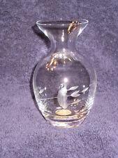 Princess House Heritage Handblown Handcut Vase - #476 - RARE - New in Box