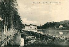 Carte LE VAL SAINT GERMAIN Château du Marais Vue de la Pièce d'eau